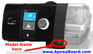 AirSense 10 Series Identification