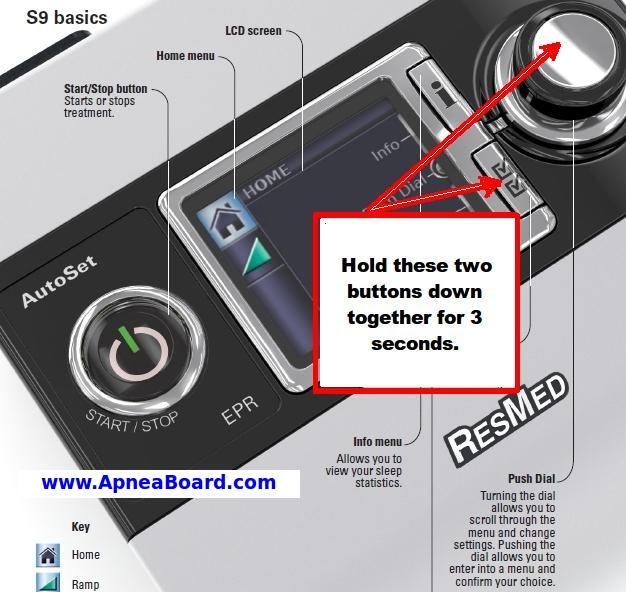 resmed s9 cpap setup rh apneaboard com